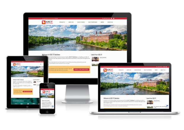 Granite State Communications Website